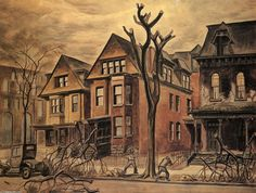 Charles Burchfield, Civic Improvement, 1927-28
