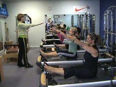 Pilates Reformer - Stomach Massage