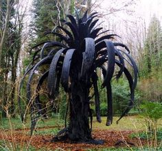 recycled tire art - Google Search