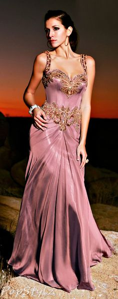 MNM Couture Pink Gown....swoon indeed! I'm sure only Barbie could really do this dress any justice, but it's dreamy:)