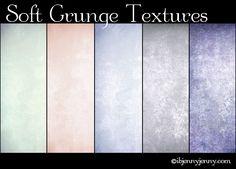 5 Free Soft Grunge Textures by ibjennyjenny