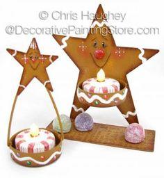 Gingerbread Spice Stars ePattern - Chris Haughey - PDF DOWNLOAD
