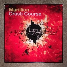 MARILLION Crash Course Coaster Ceramic Tile Record Cover