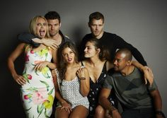The cast of The Originals on July 25, 2014 at Comic Con 2014 in San Diego