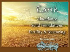 Knowing the Element of Earth symbolism & meaning can help keep you grounded and strong! Learn when and how to call Earth's powerful energy into your life.