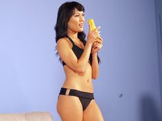 This luscious aspiring model and her tasty squash were too hot for PETA's Super Bowl ad but piqued our interest and made us hungry for more.