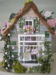 Cinderella Moments: Gypsy Cottage Dollhouse