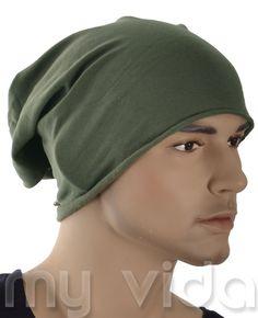 #Cappello #uomo unisex copricapo berretto Verde Militare #urban man# --> http://www.myvida.it/uomo/accessori-borse-uomo