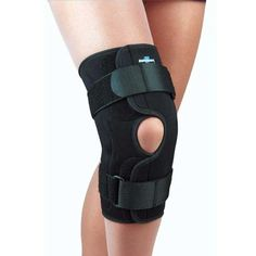 0962fdd040 FLA Safe T-Sport Wrap-Around Hinged Knee Brace - Medium - Walmart.com