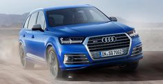 Just days after the multiple reveals at the Geneva motor show there has been another global debut - the high-performance Audi luxury SUV. It features numerous firsts for Audi, but also a world fi . Audi Q7, Allroad Audi, Audi Cars, Auto Motor Sport, Motor Car, Electric Compressor, Volkswagen, Automobile, Vw Group