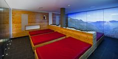 Water Bed, Sauna, Winter Holidays, Bunk Beds, Stairs, Wellness, Rooms, Furniture, Home Decor