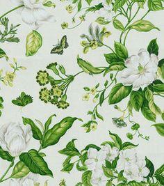 Home Decor 8''x 8'' Swatch- Willamsburg Garden Images II/Clover: Home Decor Memo Swatches: home decor fabric: fabric: Shop | Joann.com