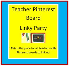 Little Blogfish: Linky Party for Teacher Pinterest Boards