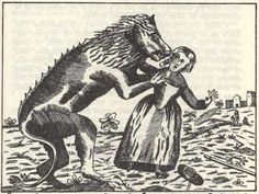 """The Beast of Gévaudan, """"a calf-sized men-eating wolf"""" that attacked about 210 people, resulting in 113 deaths (98 of them were partly eaten), between 1764 and 1767"""