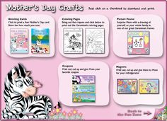 Garanimals Mother's Day Craft Page
