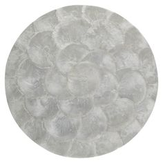 Capiz Shell Placemat 30cm | Freedom Furniture and Homewares