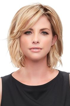 Essentially You Topper Hairpiece by Jon Renau Wigs 2020 Hair Trends Essentially . - Essentially You Topper Hairpiece by Jon Renau Wigs 2020 Hair Trends Essentially Hairpiece Jon Renau - Short Bob Hairstyles, Pretty Hairstyles, Layered Hairstyles, Hairstyle Ideas, Easy Hairstyles, Bob Haircuts, Hair Ideas, Alternative Hairstyles, Spring Hairstyles