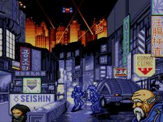 Cyberpunk was a big deal in the and in the Writers like Philip K. Dick and William Gibson, movies like Blade Runner, and anime such as Akira heavily influenced video games. The result was games with a dark, dystopian future, high technology and low life. Cyberpunk Games, Cyberpunk City, Grid Game, Bartop Arcade, Arcade Game Machines, Arcade Games, Japanese Video Games, Cyberpunk Aesthetic, Dystopian Future