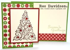 MMM #13 PDF with step by step instructions to make 4 cards featuring be of good cheer designer series paper including this card can be found here: http://rosdavidson.typepad.com/ros_davidson_live_life_an/2013/06/june-mmm-pdf.html