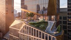 Architecture firm Snøhetta has designed a residential skyscraper for Manhattan's Upper West Side, which will feature an angular terrace cut into its side.