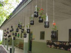 jardim reciclável pet - Pesquisa Google