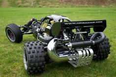 HPI Baja with tuned exhaust Good.