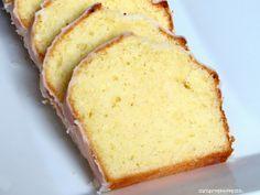 Rezepte mit Herz ♥: Zitronenkuchen - Lemon Pound Cake a la Starbucks