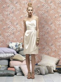 Lela Rose Style LR168 - would be cute for rehearsal or after party