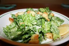 the best homemade ceasar salad dressing....  http://cheerstohappy.blogspot.com/