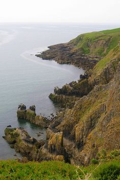 Balcary Point, Dumfries and Galloway, Scotland. Despite the efforts of excise men such as Robert Burns, smuggling prospered in places such as Balcary Bay. It was so popular with smugglers that the basement of the Balcary Bay Hotel has a storage vault for contraband.