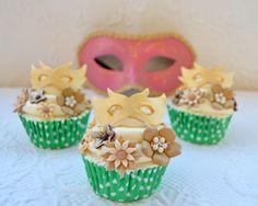 """Cupcakes a diario: Cupcakes de carnaval con SMBC de Lemon Curd y como """"disfrazarse"""" sin disfrazarse apenas..."""