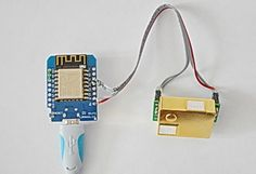 MH-Z19 CO2 Sensor seriell an WeMos NodeMcu mit MQTT