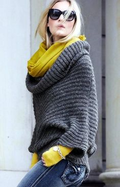 Cute oversized sweater outfit Ideas For 2015 (12)
