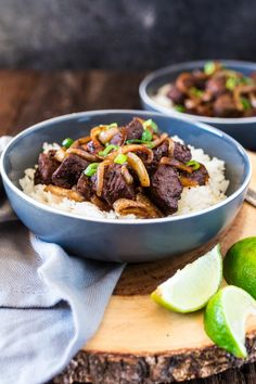 Bo Luc Lac (Vietnamese Shaking Beef) | www.oliviascuisine.com | Bo Luc Lac is a flavorful Vietnamese dish consisting of cubed beef, garlic, soy sauce, lime juice and sliced onions. Quick, easy and very easy to prep thanks to Dorot! (AD)