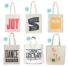 love these bags :) Sacs Tote Bags, Diy Tote Bag, Canvas Tote Bags, Reusable Tote Bags, Shopping Bag Design, Ballet Bag, Bag Quotes, Diy Sac, Custom Tote Bags