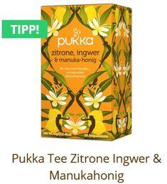 Pukka Lemon Ginger and Manuka honey Thee Pukka, Organic Herbs, Herbal Tea, Low Sugar, Herbalism, Lemon, Fair Trade, Products, Lime Essential Oil