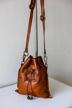Belt Bag Women, Animal Art,Vintage Bag,Small Brown Backpack ,Hip Pouch,Fanny pack,Birthday Gift,Street Style ,Girl Waist Bag,Leather Handbag