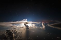 Night Flashes, Atlantic Ocean