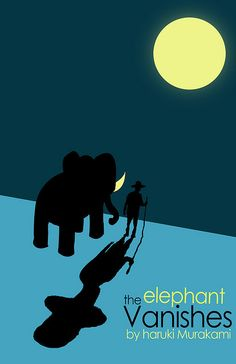 "Haruki Murakami's The Elephant Vanishes"" Book Redesign