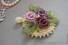 Flower componentsStep-by-step picture tute  ~ Seed Bead Tutorials