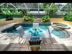 """Lady LaRoux"" Vacation Rental home in Sarasota Florida @BeachRentals.Mobi Enjoy The Sunshine, Sarasota Florida, Swimming Pools, Rental Homes, Tours, Patio, Vacation, Bedroom, Breeze"