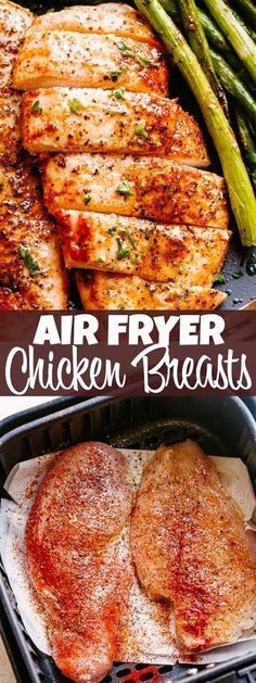 Air Fryer Chicken Breast – A simple method for how to make juicy, super tender, and wonderfully delicious chicken breasts in the Air Fryer!