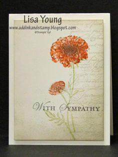 Sympathy -field flowers