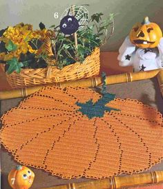 Crocheted Doily or Place Mat...Good Graph...Free...