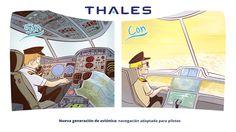 Nueva generación de aviónica: navegación adaptada para pilotos.