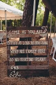 Pallet - I rather seating plans just so people feel up all the front seats instead of wondering if more family is going to sit there or not.