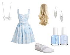 """""""Untitled #5"""" by foxgirl16 ❤ liked on Polyvore featuring TOMS, RelavenO, Essie and Dorothy Perkins"""