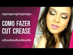 COMO FAZER CUT CREASE (côncavo marcado) - YouTube
