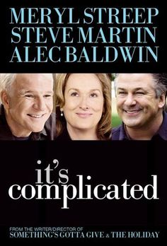 What a great rom/com this is. Meryl Streep, as always, is a joy to watch as her two-timing ex husband , Alec Baldwin, oils his way back into hr life. Lovely, lovely film.