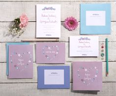 Floral Collection | Save the date | Invitation - https://www.etsy.com/uk/listing/449867614/floral-flower-wedding-stationary-set?ref=shop_home_active_18